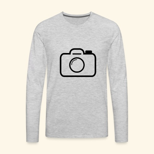 Camera - Men's Premium Long Sleeve T-Shirt