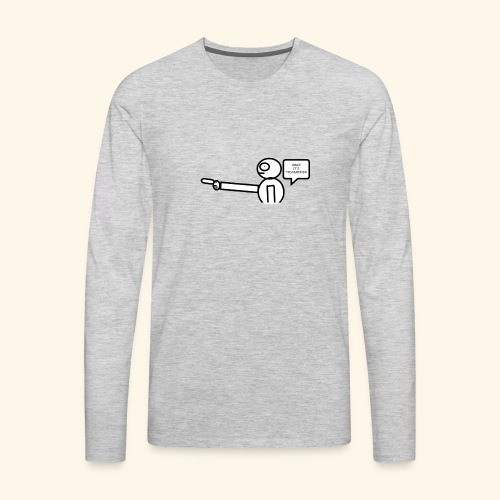 OMG its txdiamondx - Men's Premium Long Sleeve T-Shirt