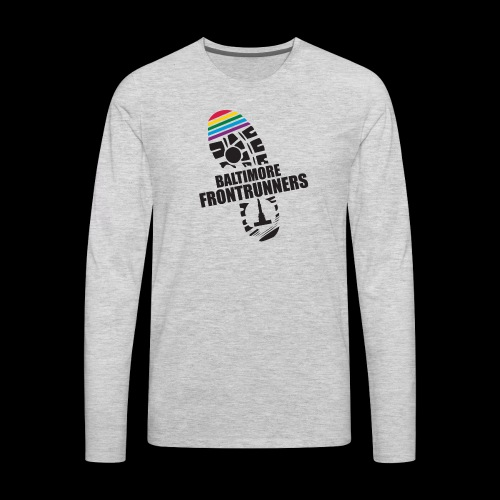 Baltimore Frontrunners Black - Men's Premium Long Sleeve T-Shirt