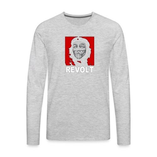 Anonymous Che Revolt Mugs & Drinkware - Men's Premium Long Sleeve T-Shirt