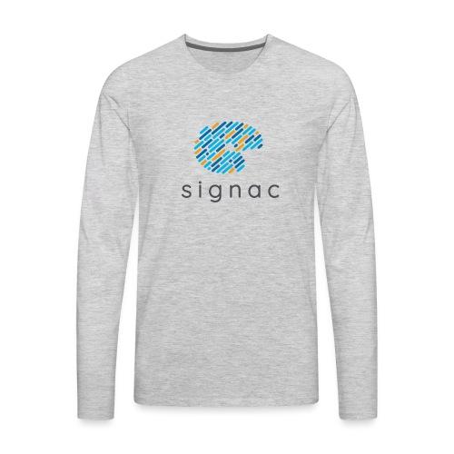 signac - Men's Premium Long Sleeve T-Shirt