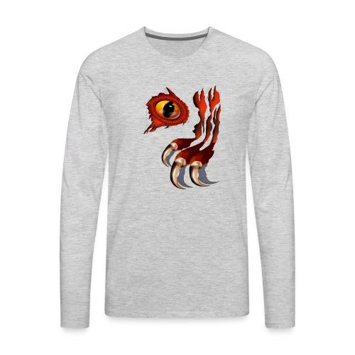 Red Dragon Hiding - Men's Premium Long Sleeve T-Shirt