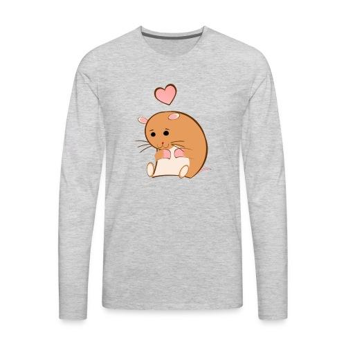 HAPPY HAMSTER - Men's Premium Long Sleeve T-Shirt