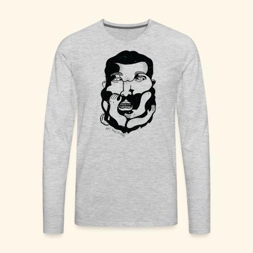 Don't touch MY beard! - Men's Premium Long Sleeve T-Shirt
