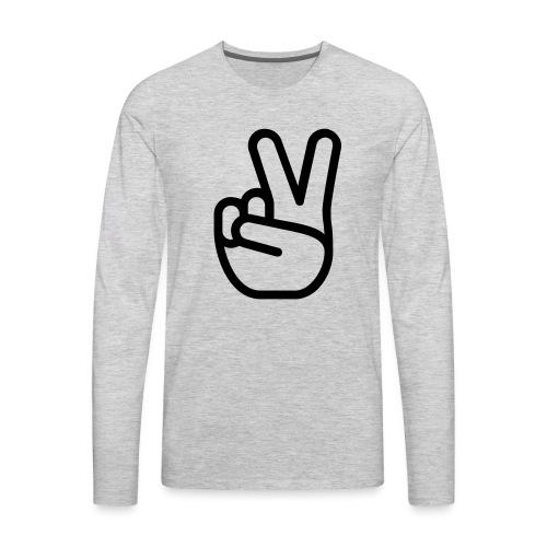 HASTY VICTORY - Men's Premium Long Sleeve T-Shirt