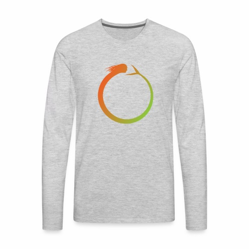 Circle Swimmer - Men's Premium Long Sleeve T-Shirt