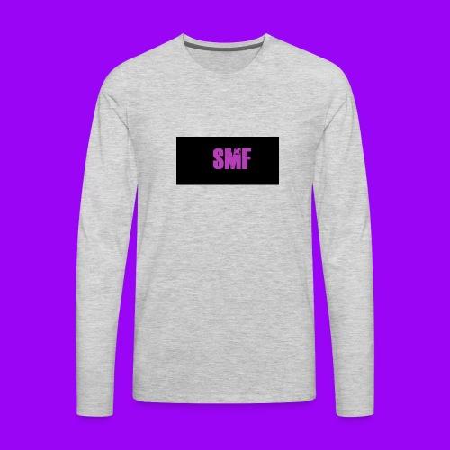 SMF purple muddy - Men's Premium Long Sleeve T-Shirt