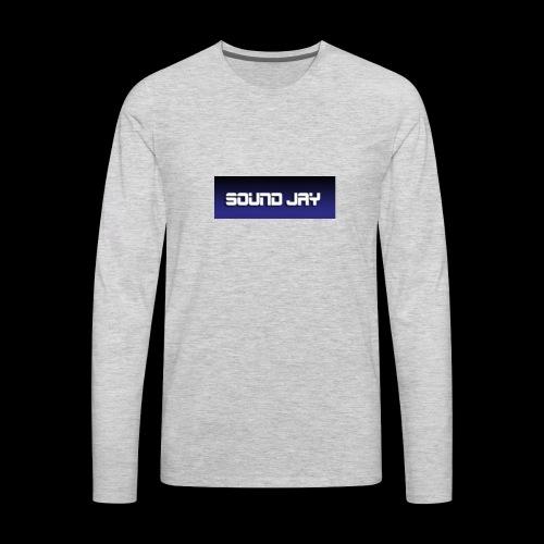 sound jay merch - Men's Premium Long Sleeve T-Shirt