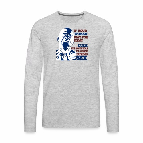 Payback Time - Men's Premium Long Sleeve T-Shirt