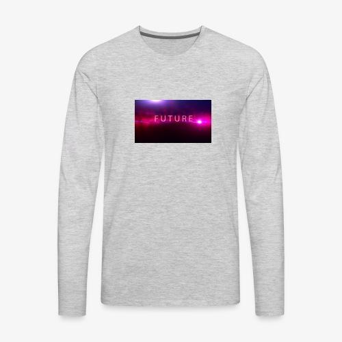 The future begins - Men's Premium Long Sleeve T-Shirt