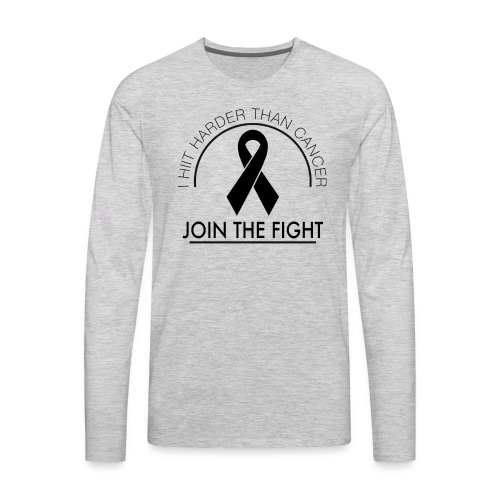 Breast Cancer Design 2 - Men's Premium Long Sleeve T-Shirt