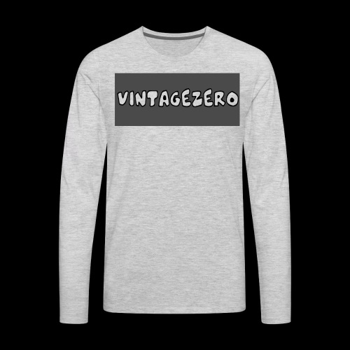 VintageZero - Men's Premium Long Sleeve T-Shirt