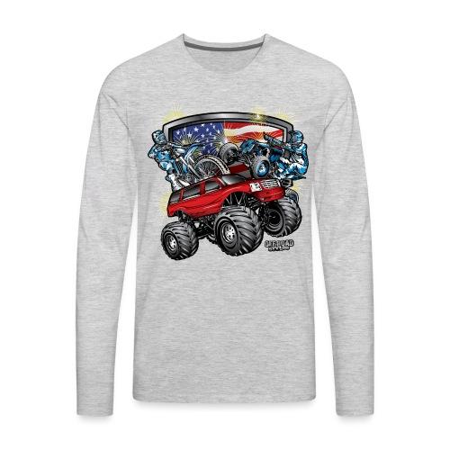 Off-Road 4th of July - Men's Premium Long Sleeve T-Shirt