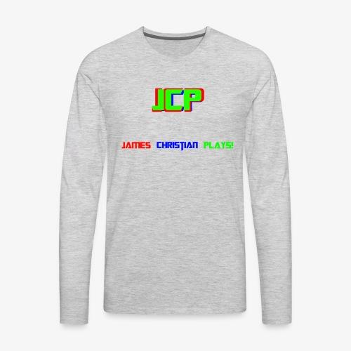 James Christian Plays! - Men's Premium Long Sleeve T-Shirt