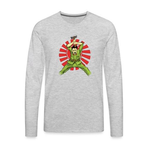 The Asian Warrior - Men's Premium Long Sleeve T-Shirt