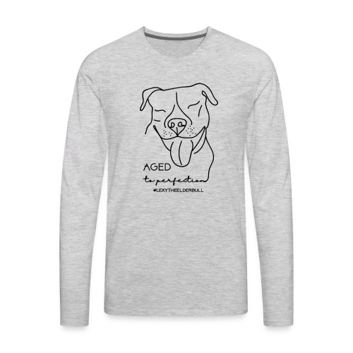 Lexy Aged To Perfection - Men's Premium Long Sleeve T-Shirt