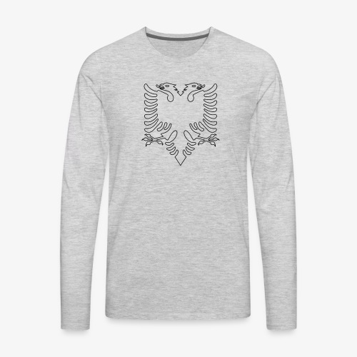 Albanian Eagle - Men's Premium Long Sleeve T-Shirt