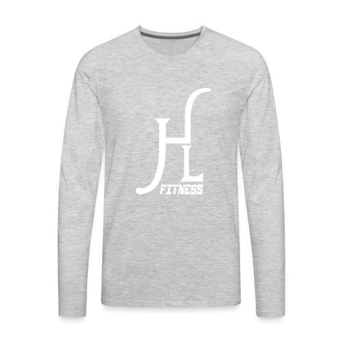 HLF Vector WHT - Men's Premium Long Sleeve T-Shirt
