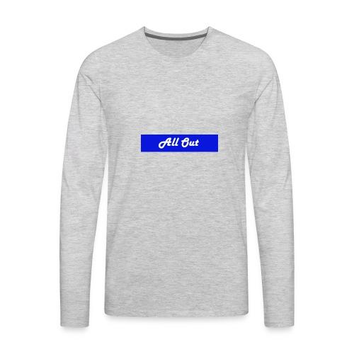 All out - Men's Premium Long Sleeve T-Shirt