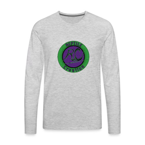 Reptile Creation Logo - Men's Premium Long Sleeve T-Shirt