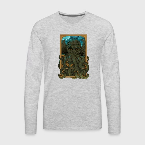AnswerThe Call of Cthulhu - Men's Premium Long Sleeve T-Shirt