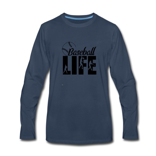 Baseball life - Men's Premium Long Sleeve T-Shirt