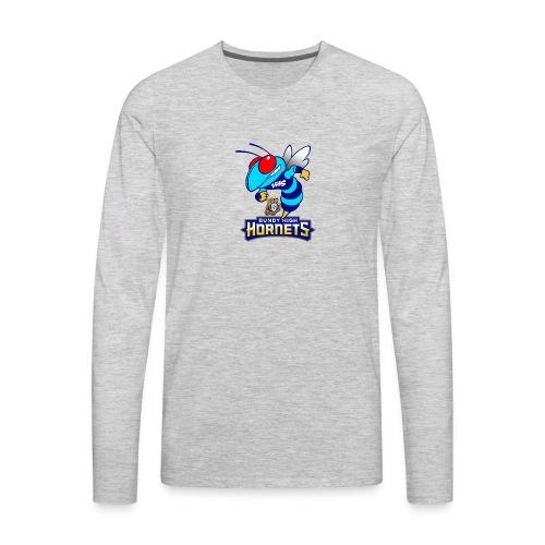 Hornets FINAL - Men's Premium Long Sleeve T-Shirt