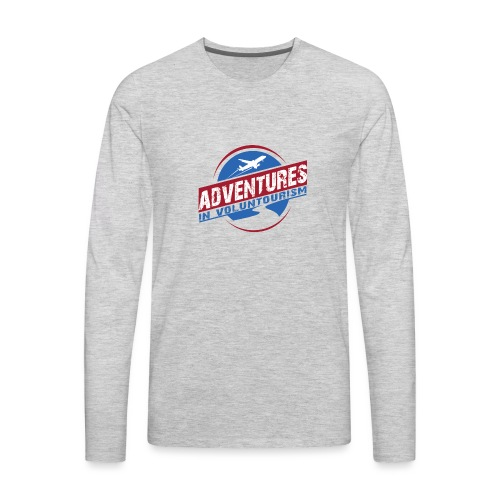 Adventures In Voluntourism - Men's Premium Long Sleeve T-Shirt