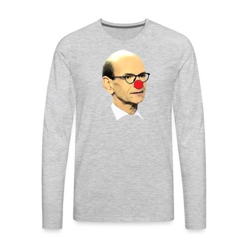Paul Finebaum Clown Shirt - Men's Premium Long Sleeve T-Shirt