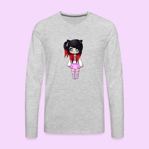 Chibi Wolfie - Men's Premium Long Sleeve T-Shirt