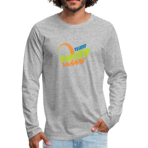 TeamSwish logo2 20 - Men's Premium Long Sleeve T-Shirt