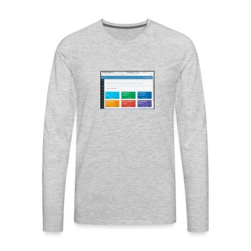Earning - Men's Premium Long Sleeve T-Shirt