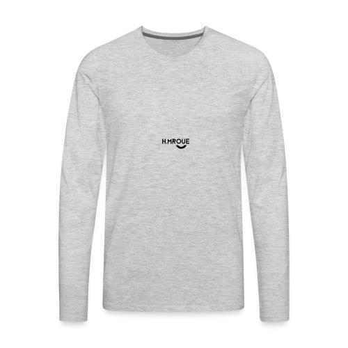 H.MROUE SMILE - Men's Premium Long Sleeve T-Shirt