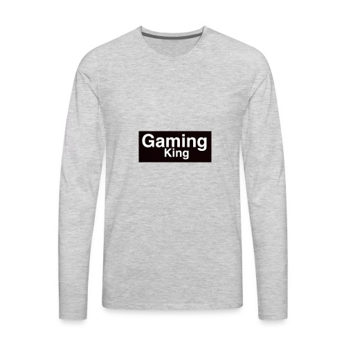 Gaming king - Men's Premium Long Sleeve T-Shirt