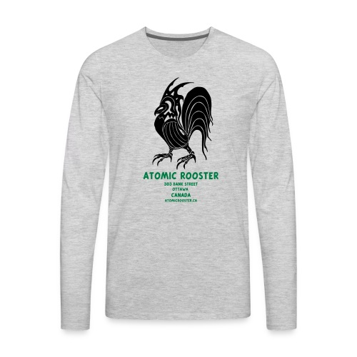 AtomicRooster Tshirt - Men's Premium Long Sleeve T-Shirt