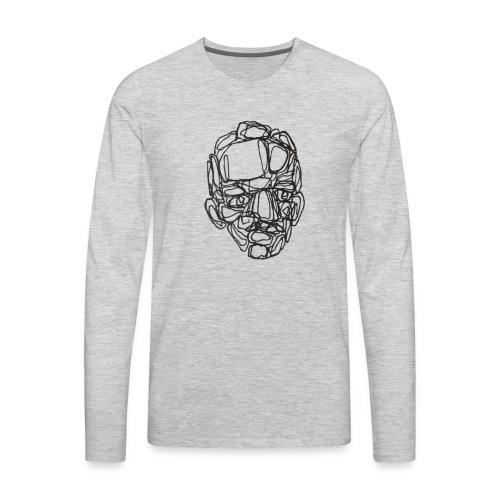 old boy - Men's Premium Long Sleeve T-Shirt