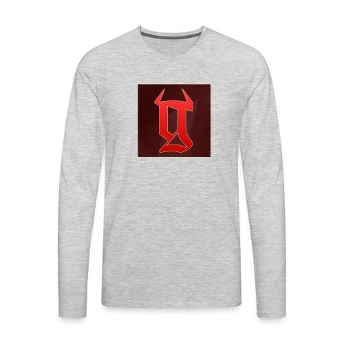 GRTs logo - Men's Premium Long Sleeve T-Shirt