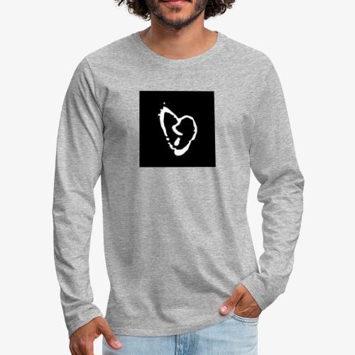Broken heart shirt, lil peep x xxxtentacion - Men's Premium Long Sleeve T-Shirt