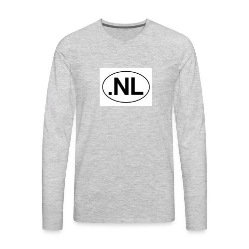 nick levey vlogs - Men's Premium Long Sleeve T-Shirt