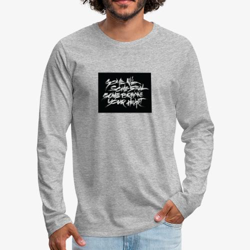 XXXTENTACION DESIGNED SHIRT - SAD ! - Men's Premium Long Sleeve T-Shirt