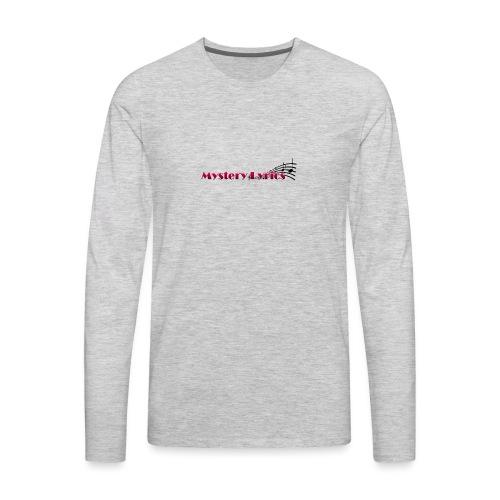 Mystery Lyrics Merchandise - Men's Premium Long Sleeve T-Shirt