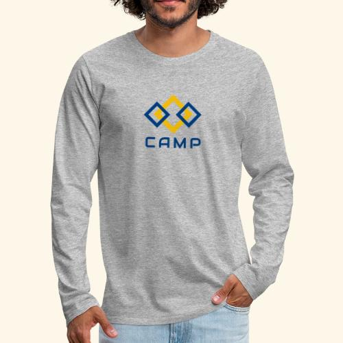 CAMP LOGO and products - Men's Premium Long Sleeve T-Shirt