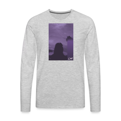 PURPLE PROMISE - Men's Premium Long Sleeve T-Shirt