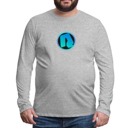 Channel Logo - qppqrently Main Merch - Men's Premium Long Sleeve T-Shirt