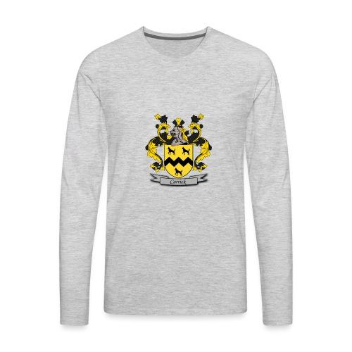 Carrick Family Crest - Men's Premium Long Sleeve T-Shirt