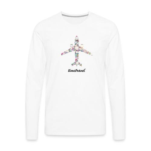 Time To Travel - Men's Premium Long Sleeve T-Shirt