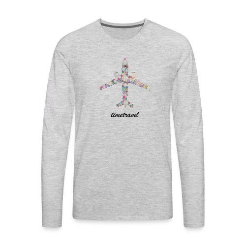 Time To Travel - Men's Premium Long Sleeve T-Shirt