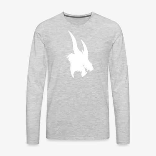 dragon sil - Men's Premium Long Sleeve T-Shirt