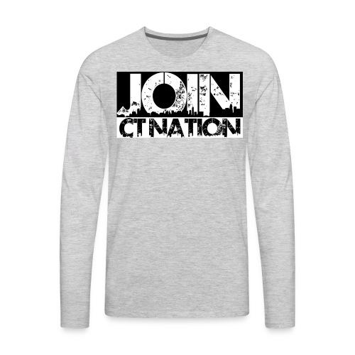 join ct nation - Men's Premium Long Sleeve T-Shirt