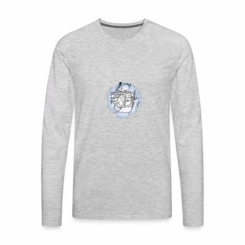 Garbage Truck Work - Men's Premium Long Sleeve T-Shirt